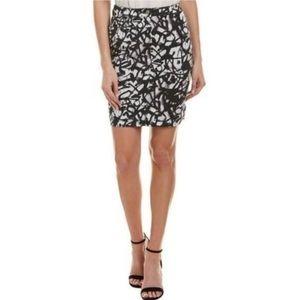 Nicole Miller Artelier Stretch Grafitti Skirt